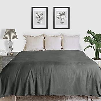 Fomoom 60 x 79 Inch Cooling 100% Natural Fiber Blanket