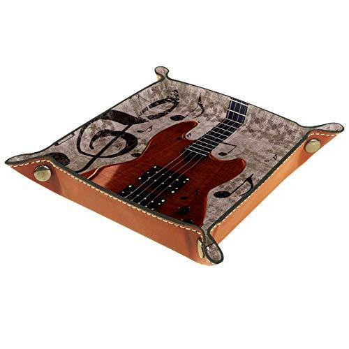 XiangHeFu Instrumento Musical Guitarra Eléctrica Monedero con Cambio de Llave Caja de...