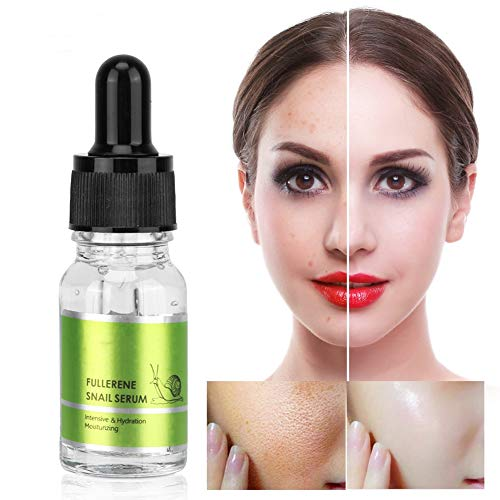 Face Serum with Snail Slime Hyaluronic Acid and Niacinamide Essence, Moisturizing Anti-aging Whitening Facial Moisturizing Firming Serum Promotes Skin Lightening Younger 10ml