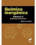 Química inorgánica. Volumen 2: Elementos de transición: 8 (Ciencias Químicas. Manuales de Químicas)