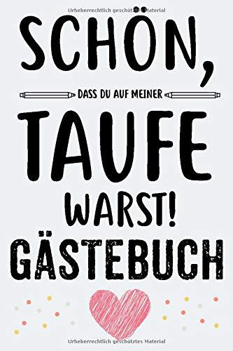 Taufe Gästebuch: Für Mädchen Junge Taufe Geschenk Taufbuch Taufgeschenk Taufalbum...