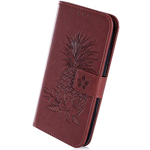 Herbests Compatible with Samsung Galaxy A6 2018 Case Embossing Mandala Flower Flip Folio Wallet Case Leather Stand Protective Cover Card Slots Magnetic Closure Bookstyle Back Cover,Blue