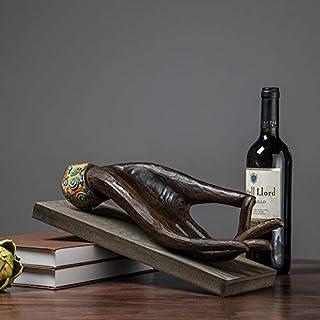 mangege Creativo Budista Estante del Vino decoración del hogar Sala de Estar Decoraciones gabinetes de Vino Restaurante artesanía Muebles