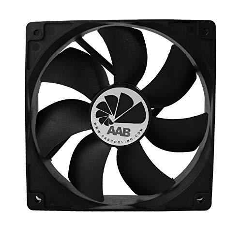 AABCOOLING Fan 12 - Una Economico ed Efficiente 120mm Ventola PC, Ventola Alimentatore PC, Ventilatore per Computer, Ventola Aspirazione, 12cm, 4 Pin, 115m3 h 25 Db (A)