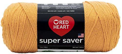 Red Heart Super Saver Yarn-Gold