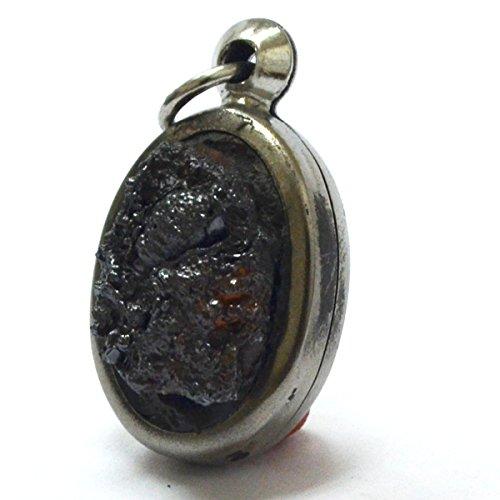 Amulets Amazing Thailand Magic Sacred Natural Stone leklai lp somphon Thai Pendant for Success Rich Necklace