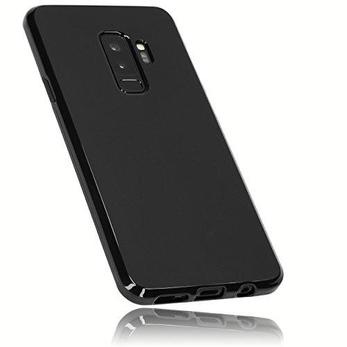 mumbi Hülle kompatibel mit Samsung Galaxy S9+ Handy Case Handyhülle, schwarz