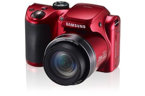 Samsung WB100 Smart Digital Camera (Red)