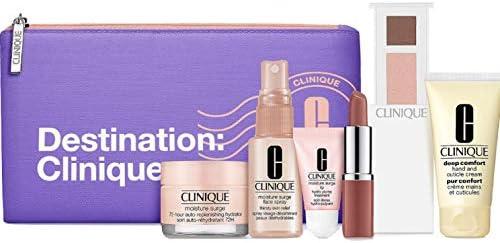 Clinique 2020 Skincare Makeup 7 Pcs Travel size Gift Set with Destination bag product image