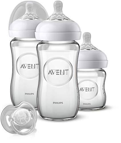 Philips Avent SCD303/01- Kit de cristal natural para recién nacidos