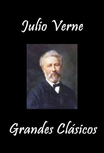 Julio Verne Grandes Clásicos (Alrededor de la Luna, Cinco Semanas en Globo, La Isla Misteriosa, Viaje al Centro de la Tierra, Veinte Mil Leguas..., Esfinge ... Los Hielos, Vuelta al Mundo en 80 Dias..)