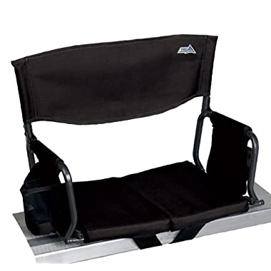 RIO Gear Stadium Arm Chair, Black