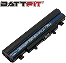 Battpit™ Laptop/Notebook Battery Replacement for Acer Aspire E5 E5-511 E5-571 Series V3-572 Series Extensa 2510 TravelMate P246 AL14A32 KT.00603.008 (4400mAh / 49Wh)