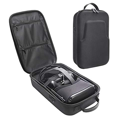 Carplink Hard Eva Case for Oculus Quest All-in-one VR Gaming Headset Protective Case Hand Carry Bag