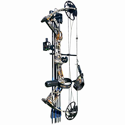 sanlida Archery Dragon X8 Hunting Archery Compound Bow Package/Limbs Made in USA/18-31 Draw Length/0-70Lbs Draw Weight/Up to 310FPS/1 Year Warranty (Camo Pro)