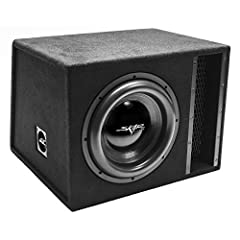 Single 12-inch Dual 2 Ohm EVL Series Loaded Subwoofer Enclosure (Ported Box) Peak Power: 2,500 Watts | RMS Power: 1,250 Watts Subwoofer is Pre-loaded and Wired to a 1 Ohm Final Impedance Load Vented Design of Enclosure and Heavy Duty MDF Construction...
