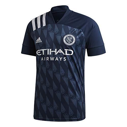 adidas New York City FC Temporada 2020/21 Camiseta Segunda equipación, Unisex, Azul, M