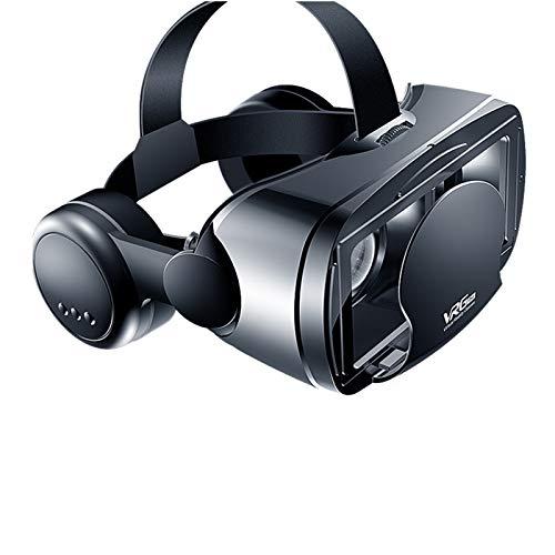 XXXVV 2021 VR-Headset, Brille Für Filmspiele, Augengeschütztes HD-Virtual-Reality-Headset Im Vollbildmodus, Abnehmbare Universelle 3D-Brille Für120 ° Weitwinkel Für 5-7-Zoll-Smartphones,No Blue Light