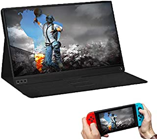 Wistino thin portable LCD HD monitor 15.6 USB Type C, HDMI for laptop, phone, xbox, switch and PS4 Portable LCD Gaming Monitor