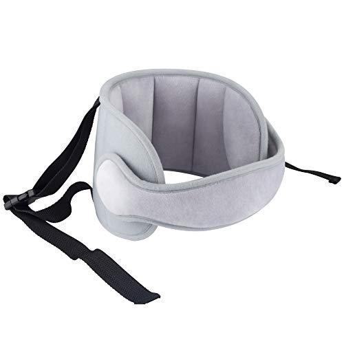 Luchild Ajustable Asiento para el Automóvil Asiento para la Cabeza Banda Soporte Cabeza Sujeta de Coche para Niños Arnés Cinturón