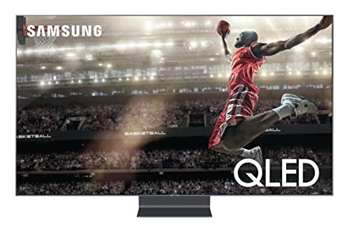 Samsung QN75Q90RAFXZA Flat 75-Inch QLED 4K Q90 Series Ultra HD Smart TV with HDR and Alexa Compatibility (2019 Model)