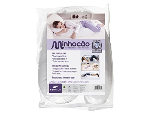 Travesseiro de Corpo Minhocão para Gestante - 21x150 cm - Fibrasca
