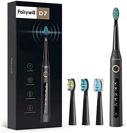 Up to 35% off Fairywill Ultrasonic Toothbrushes and Teeth Whitening Strips
