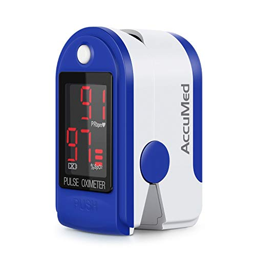 41ffpxxA9EL - AccuMed CMS-50D1 Fingertip Pulse Oximeter