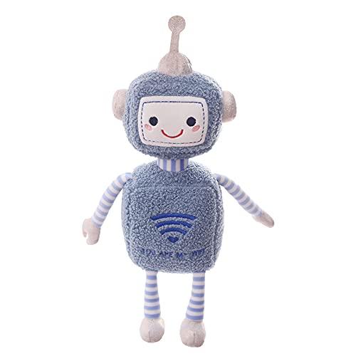 Peluche 45cm Kawaii Robot Muñeco De Peluche Suave Juguetes Creativos Para Niños Decoración De La Habitación De Los Niños Abrazo Juguetes De Peluche Regalo De Cumpleaños Para Niños