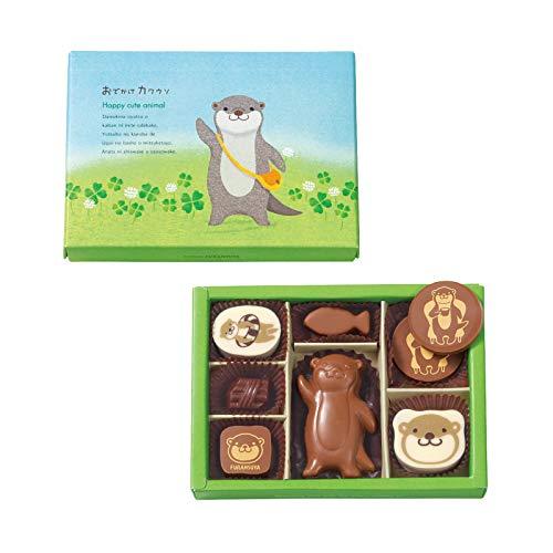 フランス屋製菓 K8おでかけカワウソL(8個入り)|フランス屋 ギフト チョコ バレンタイン ホワイトデー カワウソ