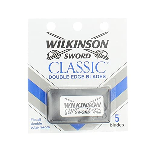 Classic Double Edge Razor Blades by Wilkinson Sword