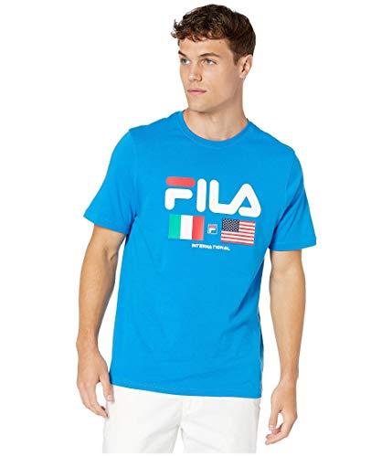 Fila International Tee Directoire Blue XL