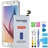 Perfine 2750mAh Batería para Samsung Galaxy S6, Modelo Original EB-BG920ABE, G920A, G920P, G920T, G920V, G920F con Kits de Reparación