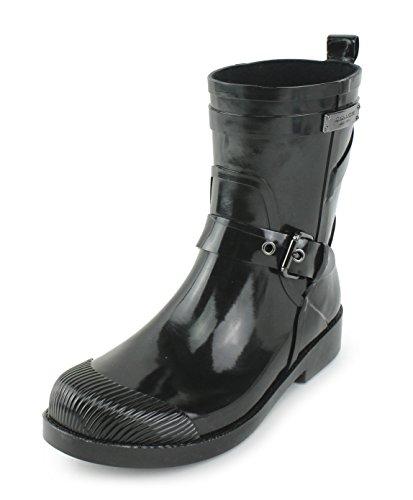 ladies coach rain boots - 8