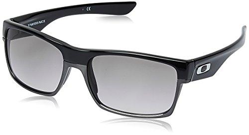 Oakley Gradient Square Men's Sunglasses (918928|60.5 millimeters|Black and Clear Gradient)