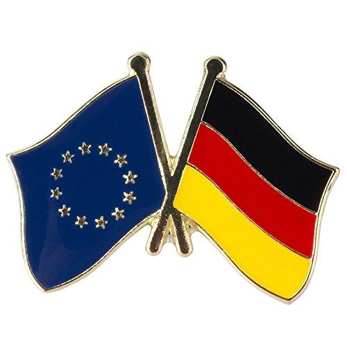 Patch Nation Europese Unie EU Duitsland Duitse Vriendschap Vlag Metalen Pin Badge