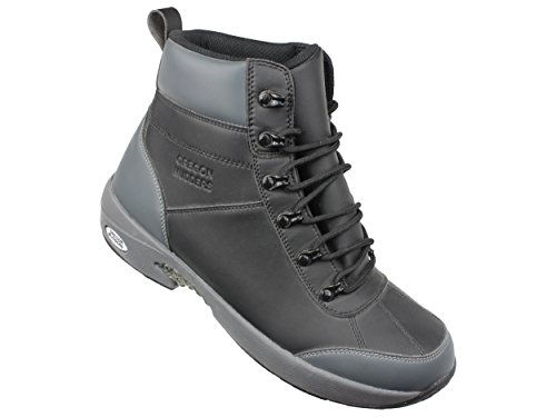 Oregon Mudders Mens CM700S Waterproof 6-Inch Golf Boot with Spike Sole 8.5W US Mens Grey