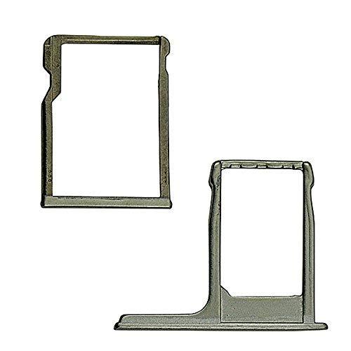 BisLinks® Grau SIM Karte Tablett + SD Memory Kartenleser Halter Austausch Für HTC One M8