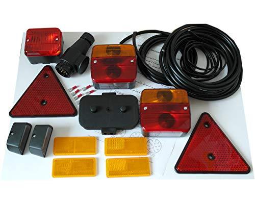 HGW Beleuchtungsset - Leuchten, Kabel, Stecker 13-pol.