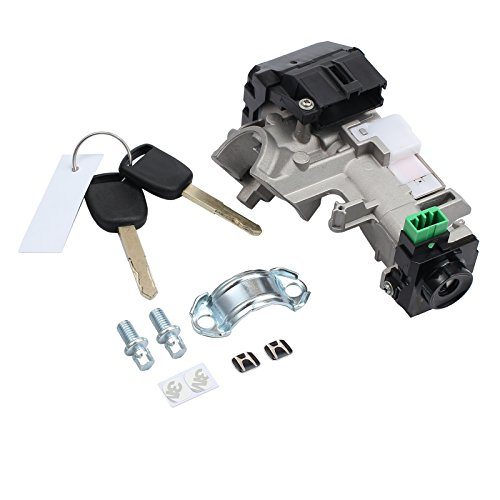 AUTOUTLET Ignition Switch Cylinder Lock Auto Trans 2 Keys For Honda Accord Civic 2003-2005