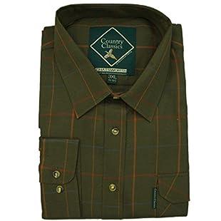 Customer reviews Country Classics Short Sleeve Check Shirts Chatsworth - Green - 2XL:Isfreetorrent