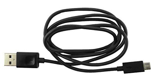 Emartbuy® Schwarz Genuine LG Optimus L5 II E460 / E455 Dual Micro USB Daten und Ladekabel Großpackung 1,0m
