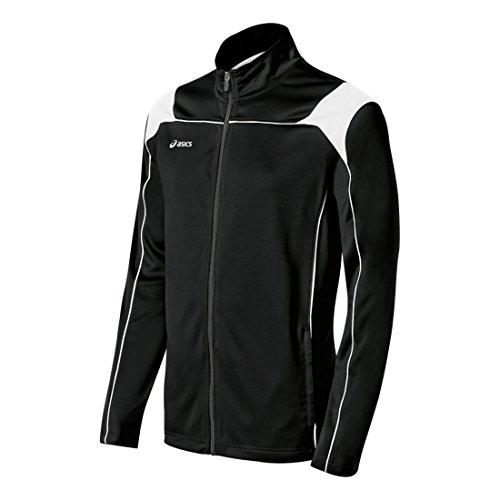 ASICS Miles Herrenjacke, Herren, Trainingsjacke, Miles™ Jacket, schwarz / weiß, Small