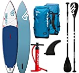 Fanatic Pure Air Touring inflatable SUP 11.6 Stand up Paddle Board mit Pure Paddel 2018 -