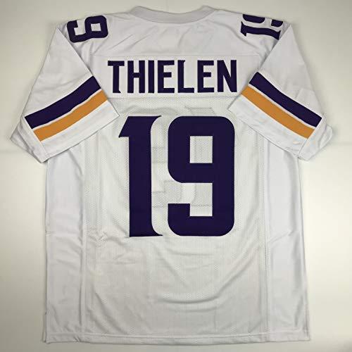 Unsigned Adam Thielen Minnesota White Custom Stitched Football Jersey Size Men's XL New No Brands/Logos