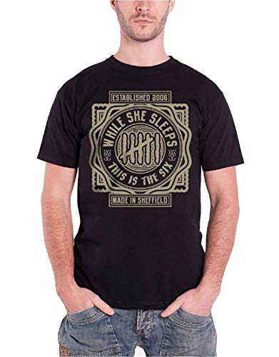 While She Sleeps This is The Six Nouveau Officiel Homme T Shirt Size XXL