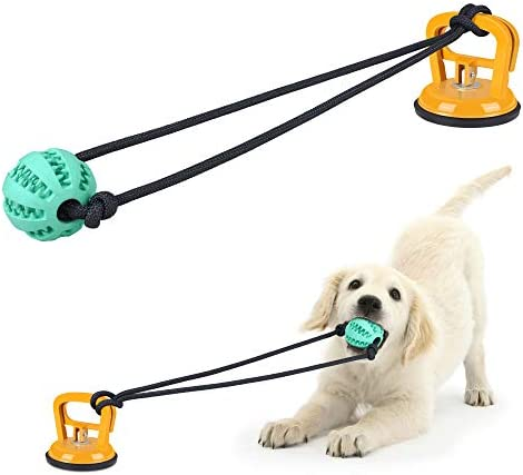Taykoo Dog Chew Suction Cup Toy Dog Tug of War Toy Multifunction Interactive Pet Aggressive product image
