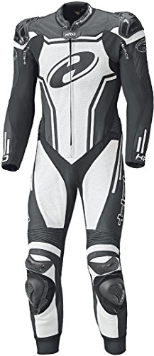 Held Rush 1-Teiler Motorrad Lederkombi 98 Schwarz/Weiß
