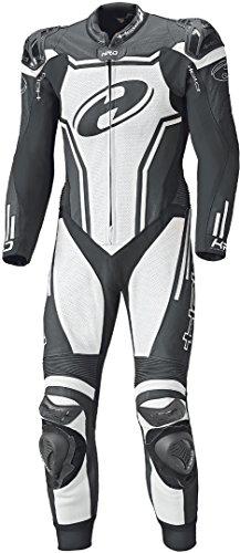 Held Rush 1-Teiler Motorrad Lederkombi 102 Schwarz/Weiß
