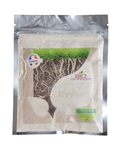 Bio Technology® | Aditivo Fertilizante para Raíces | Estimulante de Raíces | Enzimas Tricodérmicas Beneficiosas para Las Bacterias| Vitaminas y Aminoácidos | Fórmula Única | ELYCITOR - 50g